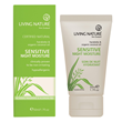 Living Nature Sensitive Night Moisture - Harakeke - 50ml