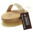 Body Brush with Natural Bristle and FSC Beechwood