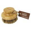Bamboo Round Body Brush with Mane & Cactus Bristle