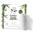 The Cheeky Panda 100% Bamboo Kitchen Towels - 2 Rolls