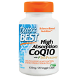 High Absorption CoQ10 - BioPerine -120 x 100mg Vegicaps
