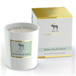 Isle of Wolf Natural Perfumed Candle- White Tea & Linen
