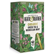 Heath & Heather Organic Green Tea & Mint - 20 Bags
