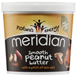 Meridian Smooth Peanut Butter with Salt - 1kg - Best before date is 31st January 2018