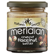 Meridian Crunchy Hazelnut Butter - 170g - Best before date is 31st July 2018