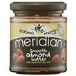 Meridian Smooth Almond Butter with Salt - 170g - Best before date is 30th November 2018