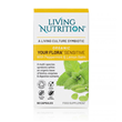 Living Nutrition Your Flora: Cool Mint - 60 Capsules - Best before date is 26th May 2018