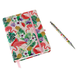 Aroma Home Flamingo Notebook & Pen - Ruled