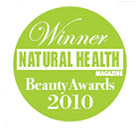 Winner Natural Health and Beauty Awards 2010